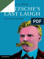 More, Nicholas D._ Nietzsche, Friedrich Wilhelm - Nietzsche's last laugh _ Ecce Homo as satire-Cambridge University Press (2014)