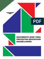 Documento Base para Proyectos Educativos Guanellianos