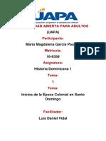 tarea 1 historia dominicana 1 mmg