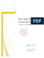 PLAN OPERATIVO ANUAL DECE 2019-2020