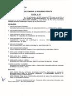 Acta Del Consejo Comunal de Seguridad Pública Del 17 de Diciembre de 2019