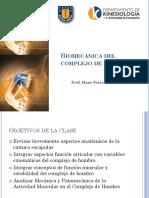 Clase 12 - Biomecánica del complejo de hombro