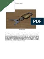 Lock with keys-WPS Office