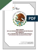 REGLAMENTO DE LAS CONDICIONES GENERALES DE TRABAJO----2