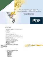 Análisis de fallas por lubricación