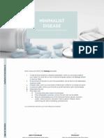 Minimalist Disease by Slidesgo