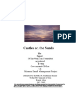 Dr. Nandkumar Kamat-One Man Commission Report on Miramar Beach Management Project, 2002