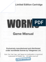 WORMS - GAME MANUAL (Limited Edition)(19xx)(Telegames)(Jaguar)(en)(Www.replacementdocs.com)