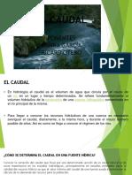 EXP EL CAUDAL