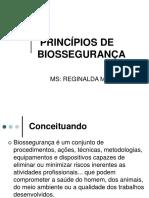 PRINCÍPIOS DE BIOSSEGURANÇA