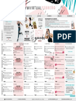 calendario febrero gym