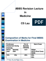 Revision Session No. 1 - Final Examination in Medicine - by Prof CS Lau [20191219].ppt