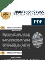 ESQUEMA DEL MINISTERIO PUBLICO
