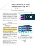 Static and dynamic simulation in the seismic