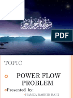 POWER FLOW PROBLEM