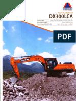 Excatavor Doosan DX300 LCA