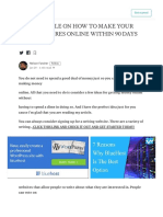 Medium Com Nelsonfancher and Example on How to Make Your First 6 Figures Online Within 90 Days Review Bf46b485454d