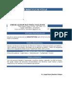 Curriculum Vitae - Alexis Bautista Vallejos