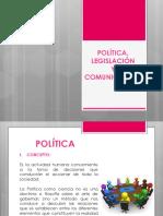 Política y legislación PPT