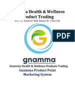 Gnamma Health MARKETINGoct31