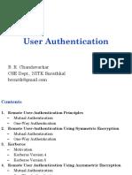 BRC-User Authentication