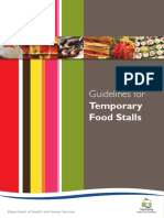 Guidelines for temporary Food stalls