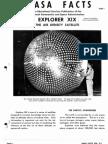 NASA FACTS Explorer XIX the Air Density Satellite