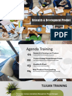 training R&D Product