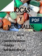 PRESENTACION ROCAS Y MINERALES