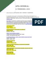 BIBLIOGRAFIA ARTE QUEER ARTE Y GENERO, SEXO, FEMINISMO.docx
