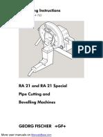 Georg Fischer Piping Systems Work Light RA21