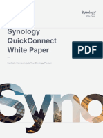 Synology QuickConnect White Paper