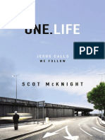 One.Life by Scot McKnight, Excerpt