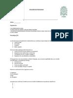 Simulacion, primer examen de Fund Psicobiologia2018