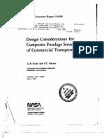 Fuselage Design Consideration
