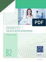 Telc B2 Medizin Zugangspruefung