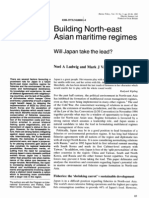 Building North-East Asian Maritime Regimes - Will Japan Take the Lead