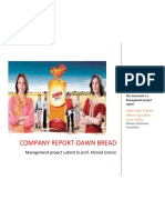 Dawn bread Management Report final