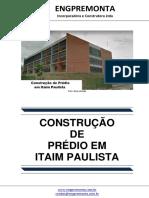 Construção de Prédio Em Itaim Paulista