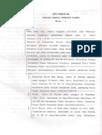 Akta pendirian Yayasan 1-20