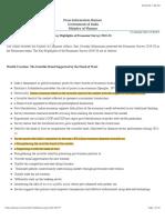 Key Highlights of Economic Survey 2019-20