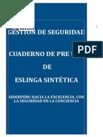 F-SM-013 PRE USO DE ESLINGAS SINTÉTICAS.xlsx