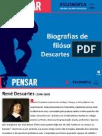 Biog-Descartes e Hume