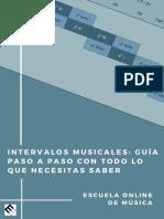 Intervalos Musicales - Guía paso a paso