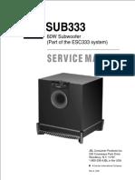 Jbl Active Subwoofer - Sub333