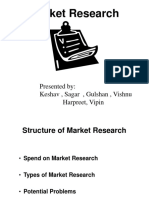 market reasearch on consumers