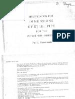 BS 1600-1970 Dimenesion of steel pipe for petroleum industry