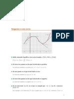 Matematicas Resueltos(Soluciones) Derivadas 2º Bachillerato Opción B-COU