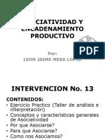 MODELO DE INTERVENCION EN ASOCIATIVIDAD Y ENCADENAMIENTO PRODUCTIVO