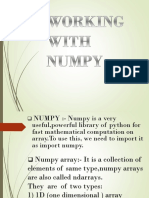 WORKING  WITH  NUMPY.pptx